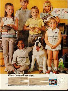 1968 vintage ad for Clorox Bleach  -060712