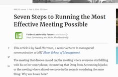 Tips on communicating formally in a meeting setting.