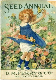 36 Ideas For Vintage Flowers Illustration Victorian Seed Catalogs Vintage Labels, Vintage Ephemera, Vintage Cards, Images Vintage, Vintage Pictures, Vintage Prints, Vintage Posters, Vintage Artwork, Vintage Seed Packets