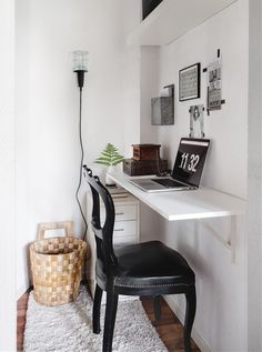 Nook Style Corner Home Office Workspace