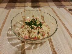 MAMO WIESZ ...?: Sałatka z ryżem i makrelą