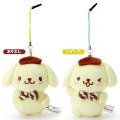 Pompom Purin Headphone Jack Mini Plush