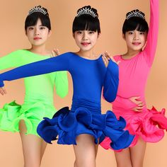 >> Click to Buy << Girls Short Sleeves Latin Dance Dress Children Fancy Dress Kids Ballroom Dance Wear Salsa Tango Rumba Cha Cha Costume #Affiliate