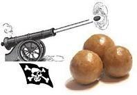 Pirate Fun - Kids Recipes - Cannonball Candy