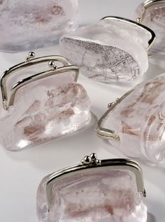 Phillipa Beveridge looks at remnants of the past and memory in this beautiful series of glass purses