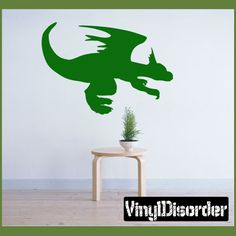 Dragon Mythical Vinyl Decal Stickers 017