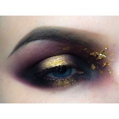 GOLD DUST | #eye #makeup #maccosmetics #nyx #nyxcosmetics #lime-crime #sugarpill #gold
