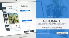 How to Automate your Instagram account without getting Banned #instagram #smm #socialmedia #instagrammarketing Instagram Accounts, Accounting, How To Make Money, University, Social Media, Marketing, Social Networks, Community College, Social Media Tips