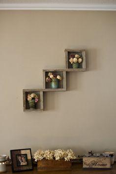 Reclaimed Wood Shelf by debstudio22 on Etsy, $25.00