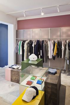 Wood Wood Opens New Store In Copenhagen! India Architecture, Sports Shops, Big Windows, Retail Space, Retail Shop, Retail Design, Store Design, Creative Director, Streetwear Fashion
