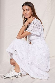 Felicity Embroidered Maxi Dress | Anthropologie Somerset, Fall Outfits For Work, Summer Outfits, Irish Warrior, Warrior Queen, Anthropologie Clothing, Anthropologie Uk, White Maxi Dresses, Pretty Dresses