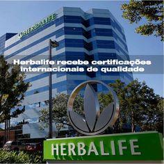 #herbalife recebe certificações internacionais de qualidade!