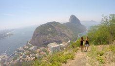 Trilha do Morro da Babilônia - Rio de Janeiro