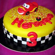 Bolo do Faísca McQueen – Carros  #Faísca #McQueen #LightningMcQueen #Carros #Cars #Bolo #Bolos #Oeiras #Cake