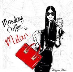 Monday Coffee in Milan