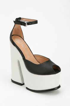Jeffrey Campbell Right Now Platform Heel. Platform heels or moto boots with everything!