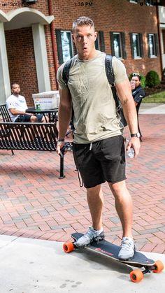 Christian McCaffrey Panthers Football Team, Best Football Players, College Football, Christian Mccaffery, Perfect Body Men, Beautiful Men Faces, Gorgeous Men, Sexy Men, Hot Men