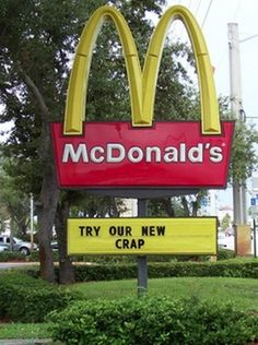 Funny Signs #mcdonalds