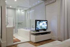 Banheiro Integrado ao Quarto! Veja modelos e dicas! - Decor Salteado - Blog de Decoração e Arquitetura