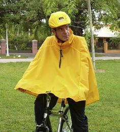 Rain Cape -- rain gear with minimal fuss.