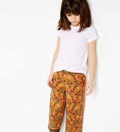 Imagem 1 de Calças estampadas da Zara