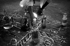 Days of The Dead    Photography of Voodoo in Haiti by    Justin Williams