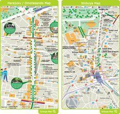 Harajuku/Omotesando/Shibuya Area- Shop Introduction- Tokyo Shopping Map - YES! TOKYO Amazing Tokyo Guide: Shopping, Dining, Popular Spots