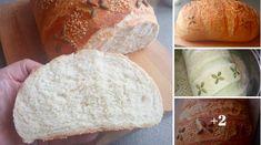 Kézzel dagasztott 1 kg-os házi fehér kenyerem! Nem csak kinézetre, de ízre is csodás! - Ketkes.com Bread, Cheese, Recipes, Food, Brot, Recipies, Essen, Baking, Meals