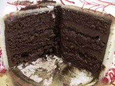 Chocolate Pound Cake - Veena's Art of Cakes