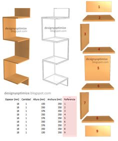 Diy Wooden Projects, Woodworking Projects Diy, Wooden Diy, Corner Shelf Design, Wall Shelves Design, House Furniture Design, Home Decor Furniture, Diy Home Crafts, Diy Home Decor