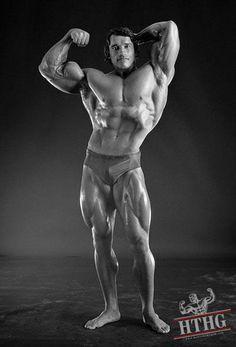 Hairy man muscle nude