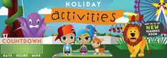 Holiday activities - COMING SOON!