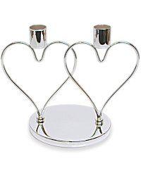 Buy Wedding Interlocking Heart Candle Holder - Wedding Interlocking Heart Candle Holder Online - Discount Wedding Interlocking Heart Candle Holder