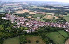 Photo aérienne de Vézelay - Yonne (89), France