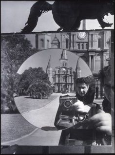 Clarence John Laughlin, Self-Portrait of the Photographer as a Metaphysician, accession number 1981.247.3.339, The Historic New Orleans Collection