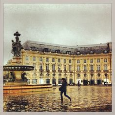 Place de la Bourse, Bordeaux, France we have stayed many times just near here