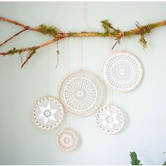 DIY wall decoration make your own wall decoration - Deko-Hus Dream catchers make boho style themselves Always aspired to discover how to knit, however unsure where do you start?