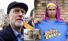 Man of the People ? Corbyn in new 'slave labour' T-shirt scandal