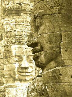 The Bayon at Ankor Wat