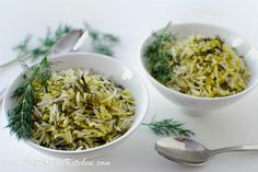 my all time, absolute favorite rice in the world - i cook this several times a month. Normal rice doesn't compare! >> Shivid Polow ~ #Persian Dill Rice #recipe