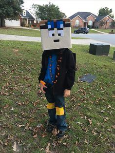 Minecraft dantdm costume projects pinterest costumes minecraft dan tdm costume solutioingenieria Images