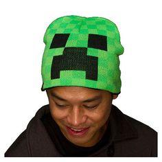 Minecraft Creeper Beanie