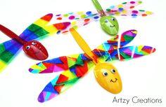 Garden Dragonflies | artzycreations.com