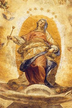 L'Immacolata Concezione dipinta dal Cigoli