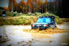 Land Rover Discovery 1 Water
