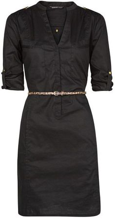 Shirt Cotton Dress -