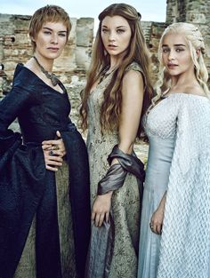 Ladies of the GoT (Lena Headey, Natalie Dormer and Emilia Clarke