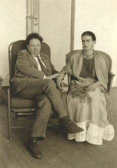 nickdrake:  Frida Kahlo & Diego Rivera