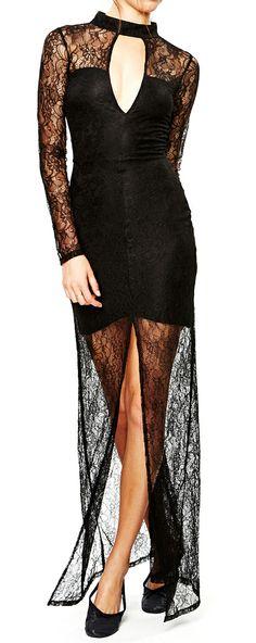 Black Swan Maxi Dress