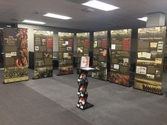 WWI exhibit on loan from the Arkansas State Archives.